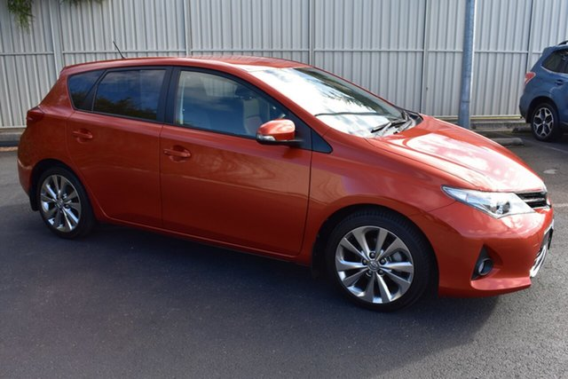 Used Toyota Corolla ZRE182R Levin S-CVT ZR, 2014 Toyota Corolla ZRE182R Levin S-CVT ZR Orange 7 Speed Constant Variable Hatchback