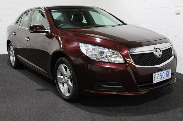 Used Holden Malibu V300 MY15 CD, 2016 Holden Malibu V300 MY15 CD Dark Burgundy 6 Speed Sports Automatic Sedan