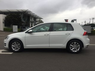 2015 Volkswagen Golf 7 92TSI Trendline White Sports Automatic Dual Clutch