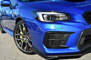 2020 Subaru WRX V1 MY20 STI AWD Premium WR Blue 6 Speed Manual Sedan.