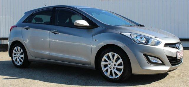 Used Hyundai i30 GD Active, 2012 Hyundai i30 GD Active Titanium Grey 6 Speed Sports Automatic Hatchback