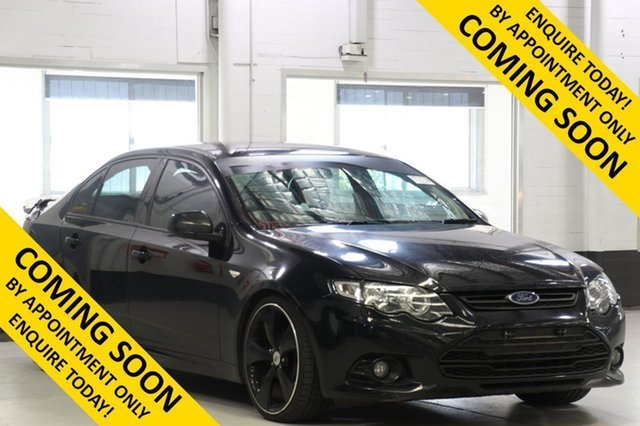 Used Ford Falcon FG MK2 XR6, 2013 Ford Falcon FG MK2 XR6 Black 6 Speed Auto Seq Sportshift Sedan