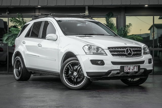 Used Mercedes-Benz ML W163 350 Luxury (4x4), 2005 Mercedes-Benz ML W163 350 Luxury (4x4) White 5 Speed Auto Tipshift Wagon