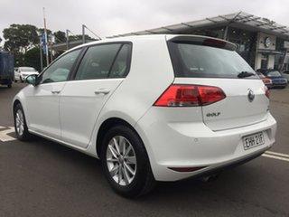 2015 Volkswagen Golf 7 92TSI Trendline White Sports Automatic Dual Clutch