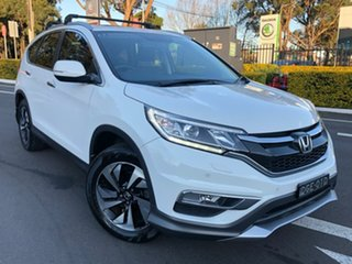 2015 Honda CR-V RM Series II MY16 VTi-L 4WD White 5 Speed Sports Automatic Wagon.