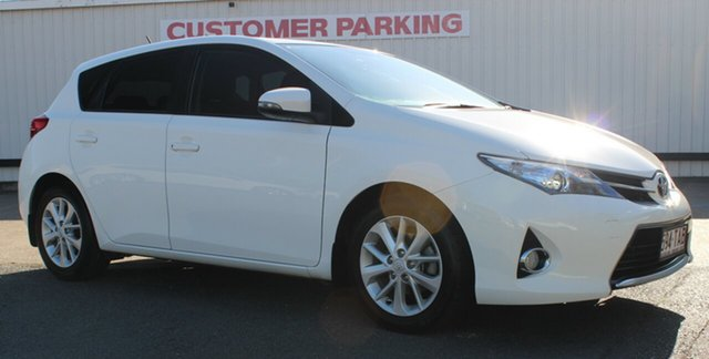Used Toyota Corolla ZRE182R Ascent Sport S-CVT, 2013 Toyota Corolla ZRE182R Ascent Sport S-CVT White 7 Speed Constant Variable Hatchback