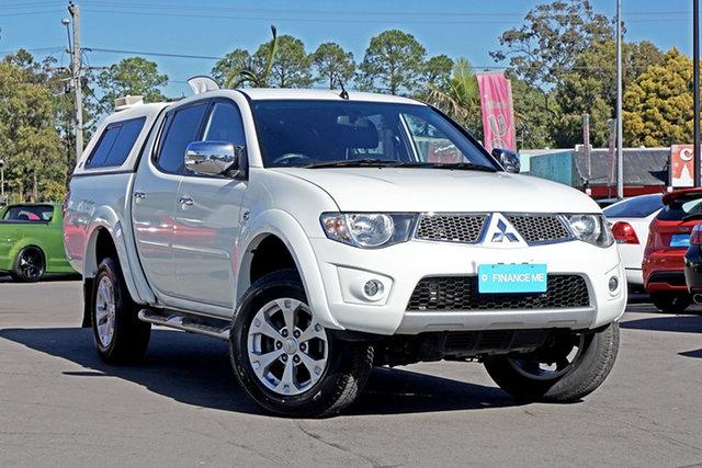 Used Mitsubishi Triton MN MY15 GLX-R Double Cab, 2015 Mitsubishi Triton MN MY15 GLX-R Double Cab White 5 Speed Sports Automatic Utility