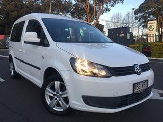 2014 Volkswagen Caddy 2K TDI250 Trendline White Sports Automatic Dual Clutch.