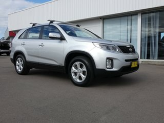 2012 Kia Sorento XM MY12 SI Silver 6 Speed Sports Automatic Wagon.