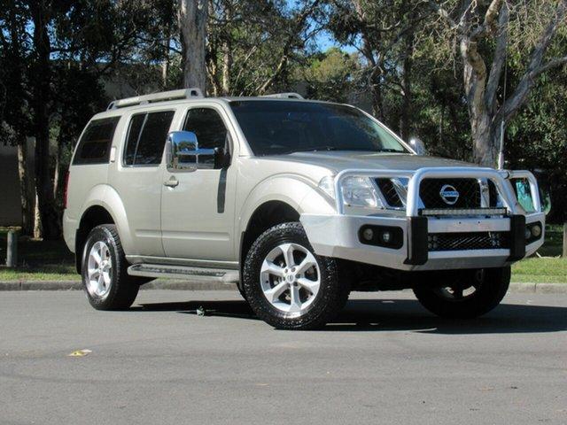 Used Nissan Pathfinder R51 MY10 ST-L, 2011 Nissan Pathfinder R51 MY10 ST-L Silver 5 Speed Sports Automatic Wagon