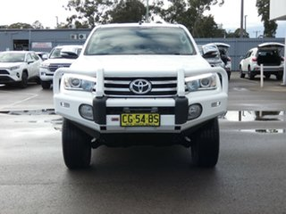 2015 Toyota Hilux GUN126R SR5 Double Cab White 6 Speed Manual Utility.