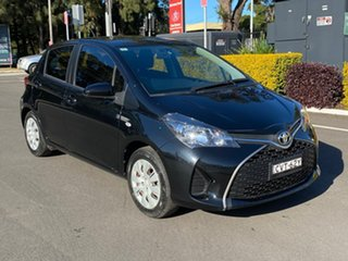 2014 Toyota Yaris NCP130R Ascent Black Automatic.