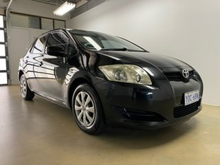2009 Toyota Corolla ZRE152R Ascent Black 6 Speed Manual Hatchback.