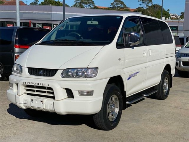 Used Mitsubishi Delica  , 2005 Mitsubishi Delica PD6W Spacegear Chamonix White Automatic Van Wagon