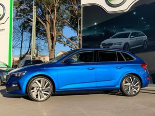 2020 Skoda Scala NW MY20.5 110TSI DSG Launch Edition Blue 7 Speed Sports Automatic Dual Clutch.