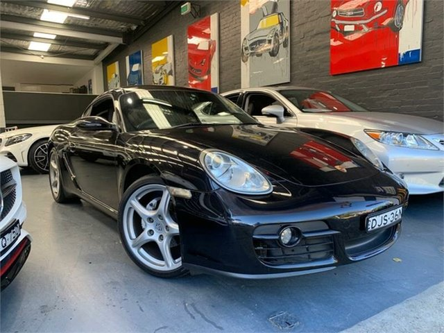 Used Porsche Cayman 987 , 2008 Porsche Cayman 987 Black Metallic 5 Speed Sports Automatic Coupe