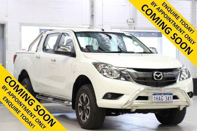 Used Mazda BT-50 MY16 XTR (4x4), 2017 Mazda BT-50 MY16 XTR (4x4) White 6 Speed Automatic Dual Cab Utility