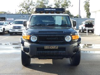 2013 Toyota FJ Cruiser GSJ15R MY14 Black 5 Speed Automatic Wagon.