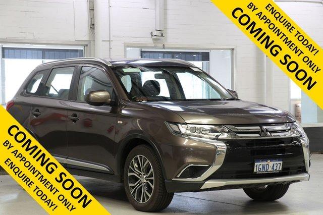 Demo Mitsubishi Outlander ZL MY19 ES 7 Seat (AWD), 2018 Mitsubishi Outlander ZL MY19 ES 7 Seat (AWD) Brown Continuous Variable Wagon