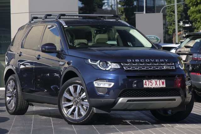 Used Land Rover Discovery Sport L550 18MY SD4 HSE Luxury, 2017 Land Rover Discovery Sport L550 18MY SD4 HSE Luxury Blue 9 Speed Sports Automatic Wagon