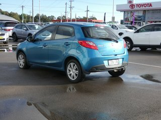 2011 Mazda 2 DE10Y1 MY10 Neo Blue 4 Speed Automatic Hatchback