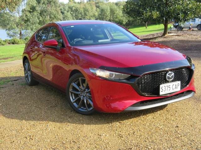 Used Mazda 3 BP2H7A G20 SKYACTIV-Drive Touring, 2019 Mazda 3 BP2H7A G20 SKYACTIV-Drive Touring Red 6 Speed Sports Automatic Hatchback