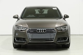 2016 Audi A4 B8 (8K) MY16 2.0 TFSI S-Line Sport Plus Brown 7 Speed Auto Direct Shift Sedan.