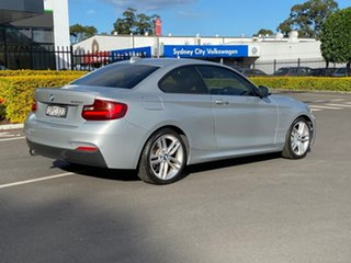2016 BMW 2 Series F22 220i M Sport Silver Sports Automatic
