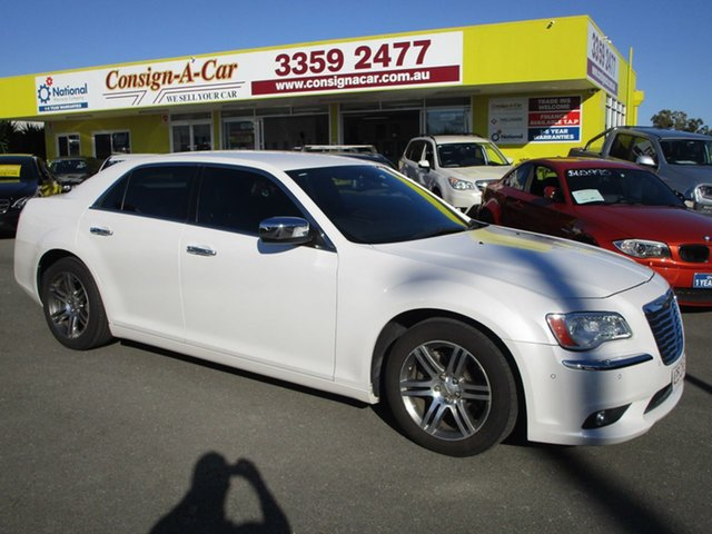Used Chrysler 300C  , 2012 Chrysler 300C C LUXURYMY12 White Sedan