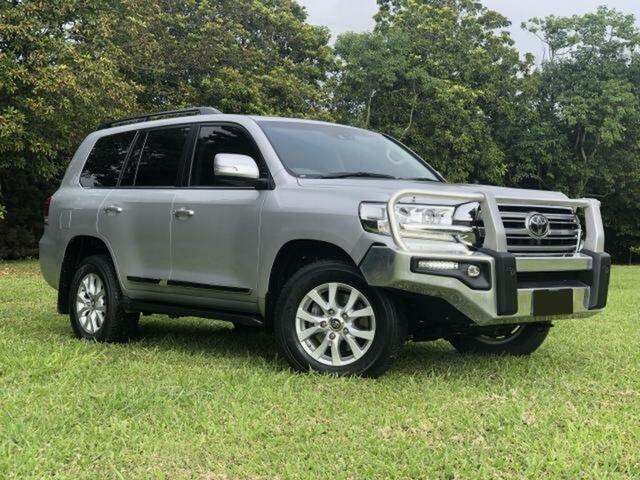 Used Toyota Landcruiser VDJ200R MY16 Sahara (4x4), 2016 Toyota Landcruiser VDJ200R MY16 Sahara (4x4) Silver Pearl 6 Speed Automatic Wagon