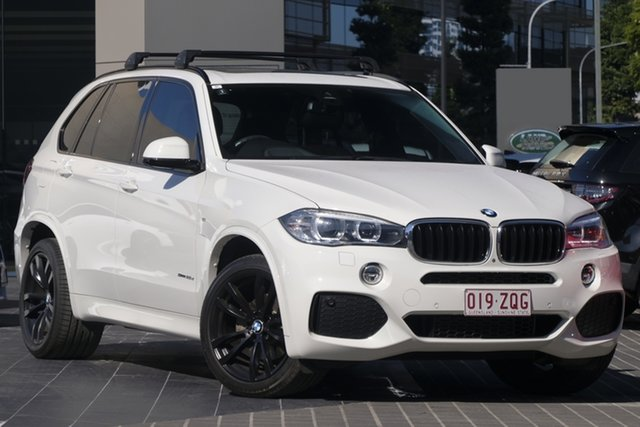 Used BMW X5 F15 sDrive25d, 2016 BMW X5 F15 sDrive25d White 8 Speed Automatic Wagon
