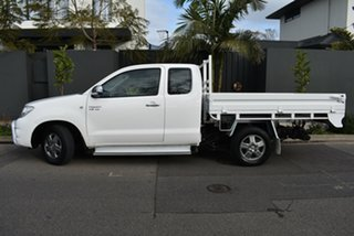 2009 Toyota Hilux GGN15R MY09 SR5 Xtra Cab 4x2 White 5 Speed Automatic Utility