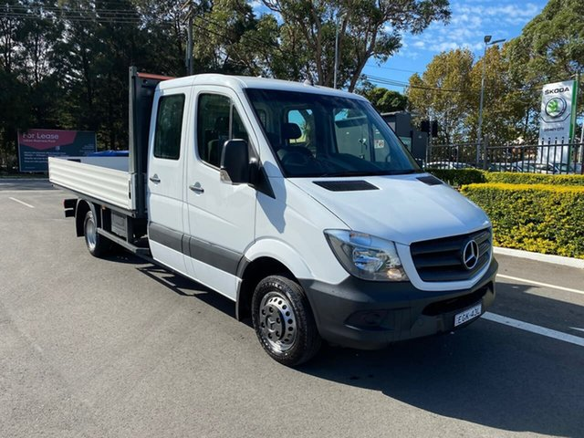Used Mercedes-Benz Sprinter NCV3 , 2017 Mercedes-Benz Sprinter NCV3 519CDI White Sports Automatic
