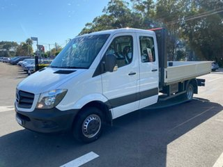 2017 Mercedes-Benz Sprinter NCV3 519CDI LWB 7G-Tronic White 7 Speed Sports Automatic Cab Chassis.