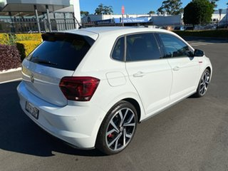 2019 Volkswagen Polo AW GTi White Sports Automatic Dual Clutch