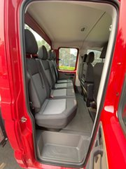 2018 Volkswagen Crafter SY1 MY18 35 LWB TDI410 Red 8 Speed Automatic Cab Chassis