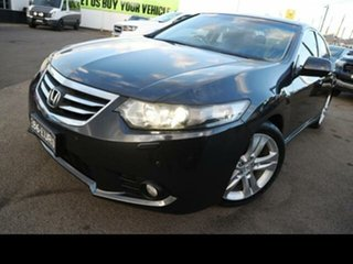 2011 Honda Accord 10 MY11 Euro Luxury Black 6 Speed Manual Sedan.