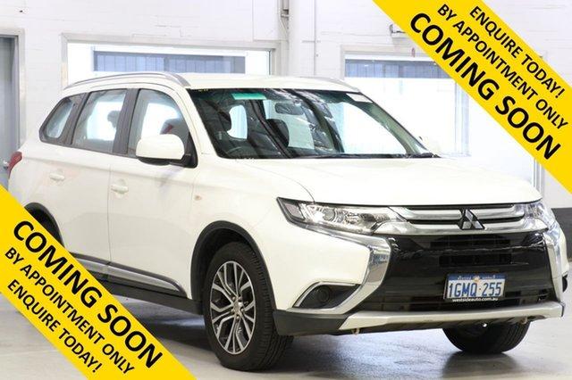 Demo Mitsubishi Outlander ZL MY19 ES 7 Seat (AWD), 2018 Mitsubishi Outlander ZL MY19 ES 7 Seat (AWD) White Continuous Variable Wagon