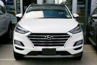 2020 Hyundai Tucson TL3 MY20 Highlander AWD Pure White 8 Speed Sports Automatic Wagon.