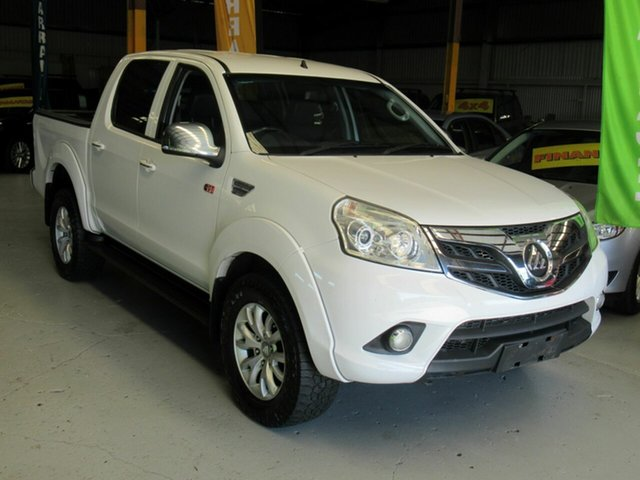 Used Foton Tunland P201 , 2015 Foton Tunland P201 White 5 Speed Manual Utility
