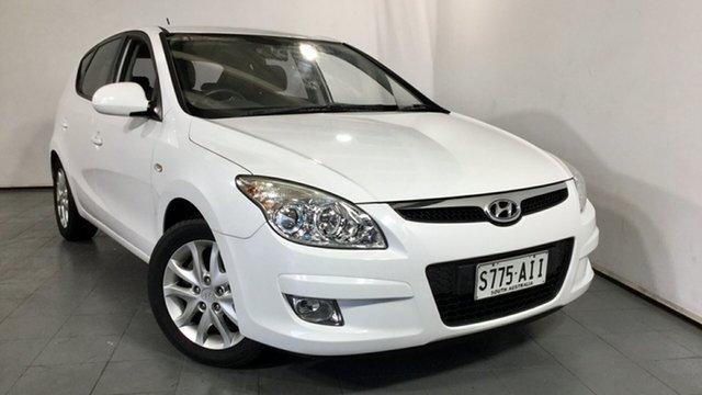 Used Hyundai i30 FD MY09 SLX, 2009 Hyundai i30 FD MY09 SLX White 4 Speed Automatic Hatchback