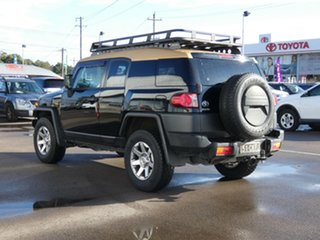 2013 Toyota FJ Cruiser GSJ15R MY14 Black 5 Speed Automatic Wagon