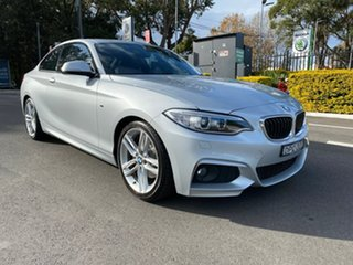 2016 BMW 2 Series F22 220i M Sport Silver Sports Automatic.