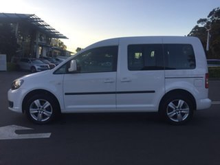 2014 Volkswagen Caddy 2K TDI250 Trendline White Sports Automatic Dual Clutch