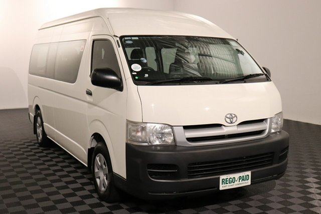 Used Toyota HiAce KDH223R Commuter High Roof Super LWB, 2007 Toyota HiAce KDH223R Commuter High Roof Super LWB French Vanilla 4 speed Automatic Bus