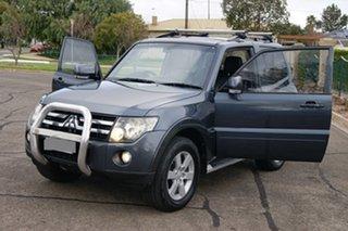 2007 Mitsubishi Pajero NS X Grey 5 Speed Auto Sports Mode Wagon