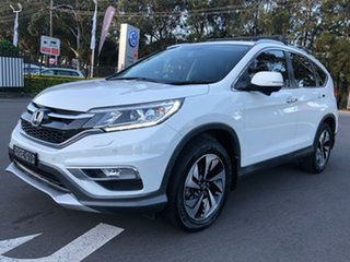 2015 Honda CR-V RM Series II MY16 VTi-L 4WD White 5 Speed Sports Automatic Wagon