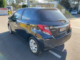 2014 Toyota Yaris NCP130R Ascent Black Automatic