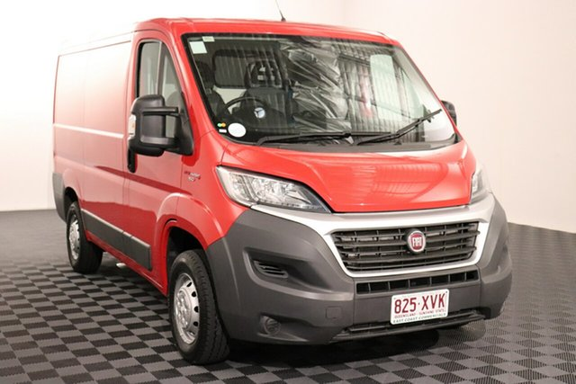 Used Fiat Ducato Series 6 Low Roof SWB Comfort-matic, 2018 Fiat Ducato Series 6 Low Roof SWB Comfort-matic Red 6 speed Automatic Van