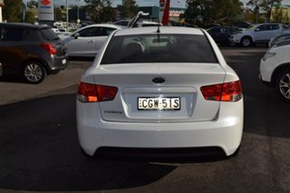 2011 Kia Cerato TD MY12 S White 6 Speed Sports Automatic Sedan